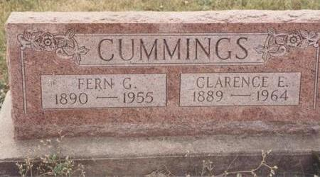 CUMMINGS, FERN G. - Van Buren County, Iowa | FERN G. CUMMINGS
