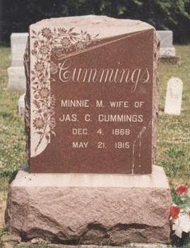 CUMMINGS, MINNIE M. - Van Buren County, Iowa | MINNIE M. CUMMINGS