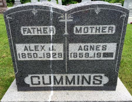 CUMMINS, AGNES - Van Buren County, Iowa | AGNES CUMMINS