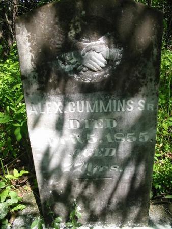 CUMMINS, ALEX. SR. - Van Buren County, Iowa | ALEX. SR. CUMMINS