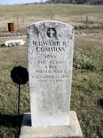 CUMMINS, EDWARD R. - Van Buren County, Iowa | EDWARD R. CUMMINS