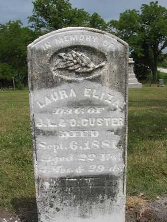 CUSTER, LAURA ELIZA - Van Buren County, Iowa | LAURA ELIZA CUSTER