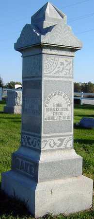 ROBINSON DAKE, CAROLINE - Van Buren County, Iowa | CAROLINE ROBINSON DAKE