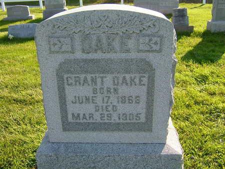 DAKE, GRANT - Van Buren County, Iowa | GRANT DAKE