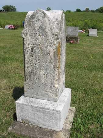 DAVIDSON, HANNAH A. - Van Buren County, Iowa | HANNAH A. DAVIDSON