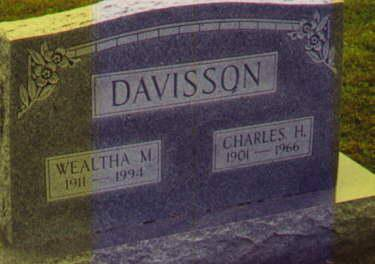 DAVISSON, WEALTHA - Van Buren County, Iowa | WEALTHA DAVISSON