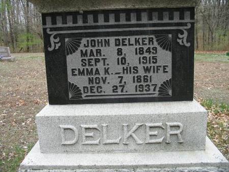 DELKER, EMMA K. - Van Buren County, Iowa | EMMA K. DELKER