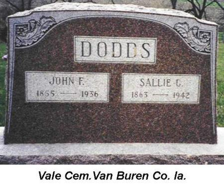 DODDS, JOHN F. - Van Buren County, Iowa | JOHN F. DODDS