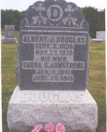 ARMSTRONG DOUGLAS, SABRA SUSANNAH - Van Buren County, Iowa | SABRA SUSANNAH ARMSTRONG DOUGLAS