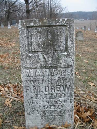 DREW, MARY E. - Van Buren County, Iowa | MARY E. DREW