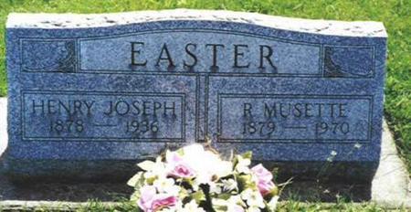 EASTER, HENRY JOSEPH - Van Buren County, Iowa | HENRY JOSEPH EASTER