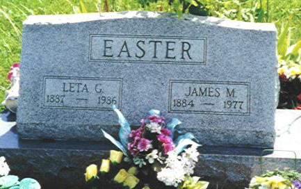 EASTER, LETA G. - Van Buren County, Iowa | LETA G. EASTER