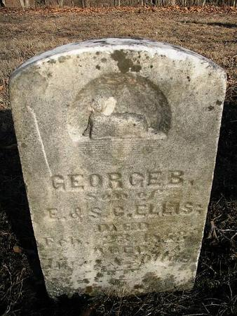 ELLIS, GEORGE B. - Van Buren County, Iowa | GEORGE B. ELLIS