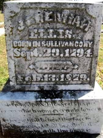 ELLIS, JEREMIAH - Van Buren County, Iowa | JEREMIAH ELLIS