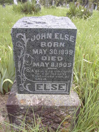 ELSE, JOHN - Van Buren County, Iowa | JOHN ELSE