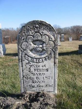FERRIS, CHARLOTTE - Van Buren County, Iowa | CHARLOTTE FERRIS