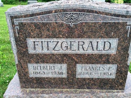 FITZGERALD, FRANCES P. - Van Buren County, Iowa | FRANCES P. FITZGERALD