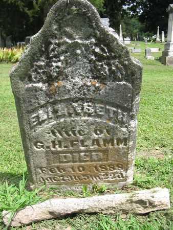 WASHBURN FLAMM, ELIZABETH ANN - Van Buren County, Iowa | ELIZABETH ANN WASHBURN FLAMM