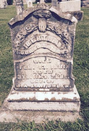 FOWLER, BERTHA - Van Buren County, Iowa | BERTHA FOWLER