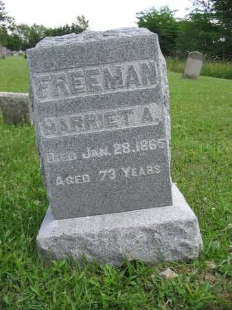 FREEMAN, HARRIET A. - Van Buren County, Iowa | HARRIET A. FREEMAN