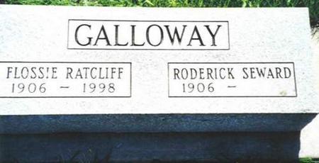 GALLOWAY, FLOSSIE AND RODERICK - Van Buren County, Iowa | FLOSSIE AND RODERICK GALLOWAY
