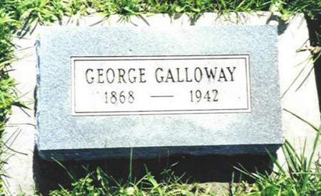 GALLOWAY, GEORGE - Van Buren County, Iowa | GEORGE GALLOWAY