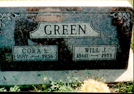 GREEN, CORA - Van Buren County, Iowa | CORA GREEN