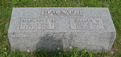 HACKARD, WILLIAM M. - Van Buren County, Iowa | WILLIAM M. HACKARD