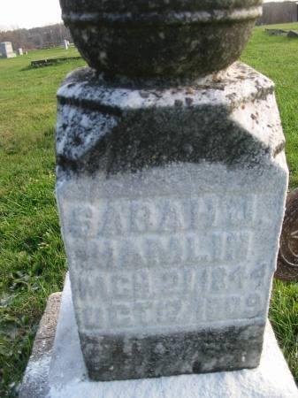 HAMLIN, SARAH J. - Van Buren County, Iowa | SARAH J. HAMLIN