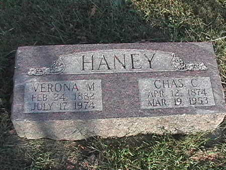 HANEY, VERONA M. - Van Buren County, Iowa | VERONA M. HANEY