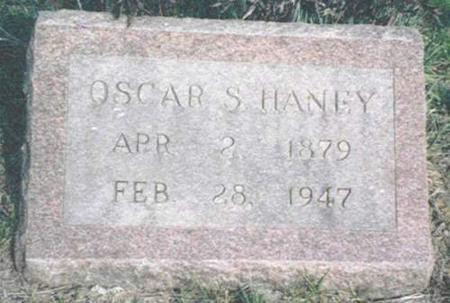 HANEY, OSCAR S. - Van Buren County, Iowa | OSCAR S. HANEY