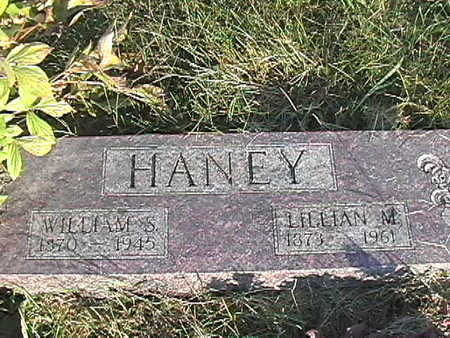 HANEY, WILLIAM SILAS - Van Buren County, Iowa | WILLIAM SILAS HANEY