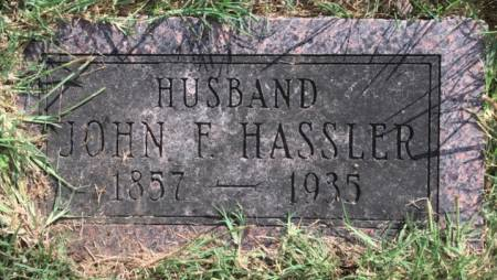 HASSLER, JOHN  F. - Van Buren County, Iowa | JOHN  F. HASSLER