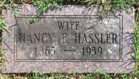 HASSLER, NANCY ELLEN - Van Buren County, Iowa | NANCY ELLEN HASSLER