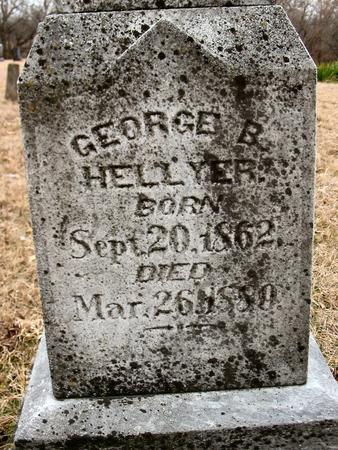 HELLYER, GEORGE B. - Van Buren County, Iowa | GEORGE B. HELLYER