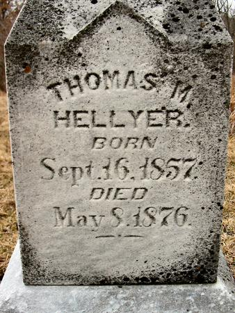 HELLYER, THOMAS M. - Van Buren County, Iowa | THOMAS M. HELLYER