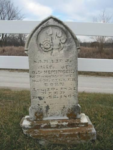 HEMINGER, SARAH J. - Van Buren County, Iowa | SARAH J. HEMINGER