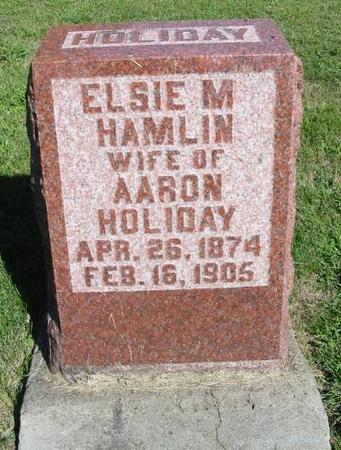 HOLIDAY, ELSIE M. - Van Buren County, Iowa | ELSIE M. HOLIDAY