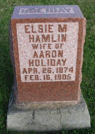 HAMLIN HOLIDAY, ELSIE M. - Van Buren County, Iowa | ELSIE M. HAMLIN HOLIDAY