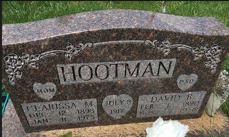 PICKENS HOOTMAN, CLARISSA MAE - Van Buren County, Iowa | CLARISSA MAE PICKENS HOOTMAN