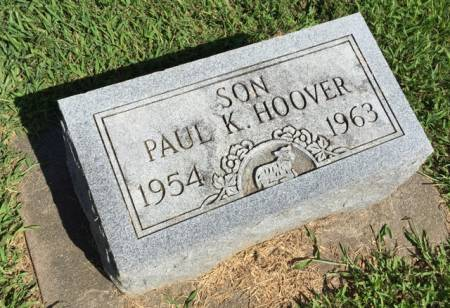 HOOVER, PAUL K. - Van Buren County, Iowa | PAUL K. HOOVER