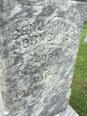 HORNBAKER, BENJAMIN R. - Van Buren County, Iowa | BENJAMIN R. HORNBAKER