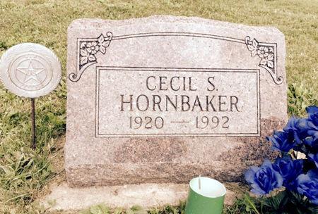HORNBAKER, CECIL S. - Van Buren County, Iowa | CECIL S. HORNBAKER