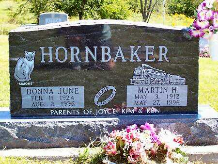 FRITSINGER HORNBAKER, DONNA JUNE - Van Buren County, Iowa | DONNA JUNE FRITSINGER HORNBAKER