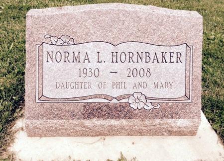 HORNBAKER, NORMA L. - Van Buren County, Iowa | NORMA L. HORNBAKER