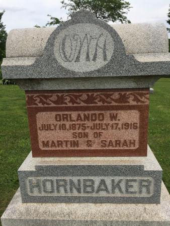 HORNBAKER, ORLANDO W. - Van Buren County, Iowa | ORLANDO W. HORNBAKER