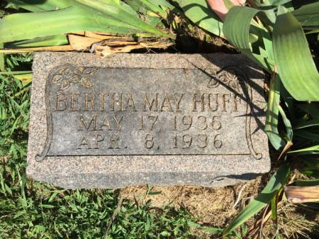HUFF, BERTHA MAY - Van Buren County, Iowa | BERTHA MAY HUFF