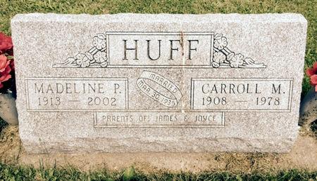 HUFF, MADELINE P. - Van Buren County, Iowa | MADELINE P. HUFF