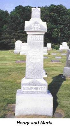 HUMPHREYS, HENRY AND MARIA - Van Buren County, Iowa | HENRY AND MARIA HUMPHREYS