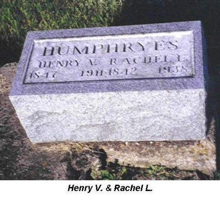 HUMPHREYS, HENRY V. AND RACHEL L. - Van Buren County, Iowa | HENRY V. AND RACHEL L. HUMPHREYS